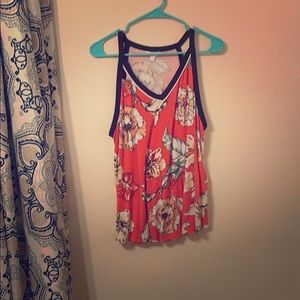 Candies Floral Tank Top
